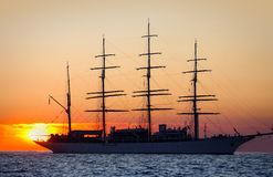 корабль sailing Стоковая Фотография