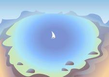 корабль sailing Стоковые Фотографии RF