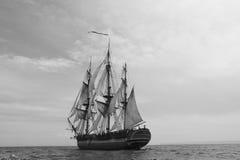корабль sailing стоковое изображение rf