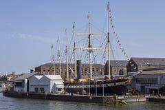 Корабль SS Великобритании в Бристоле стоковая фотография rf