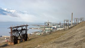 корабль svalbard фьорда исторический Стоковая Фотография RF