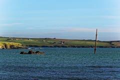 Кораблекрушение оркнейских остров Стоковое фото RF