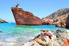 кораблекрушение Стоковые Фото
