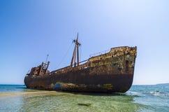 Кораблекрушение Dimitrios стоковые фото