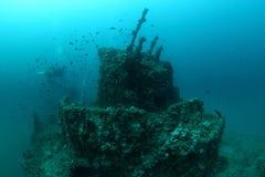 Кораблекрушение Giuseppe Dezza Стоковое Изображение RF