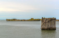 Корабли бетона стоковое изображение rf