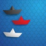 корабли бумаги Стоковые Изображения RF