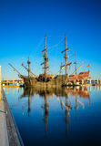 Корабли вертикали 2 высокорослые - ³ n AndalucÃa /Andalusia Galleon Galeà - Стоковое Изображение
