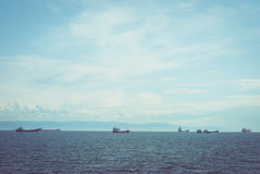 Корабли на воде стоковые фото
