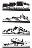 Корабли транспорта пассажира Стоковые Фотографии RF