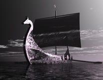 Корабль Викинга Стоковое фото RF