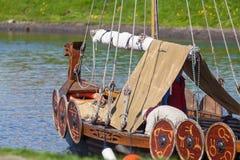 Корабль Викинга Стоковое Изображение RF