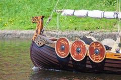 Корабль Викинга Стоковая Фотография RF