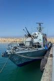 Корабль войны Израиля Стоковое Фото