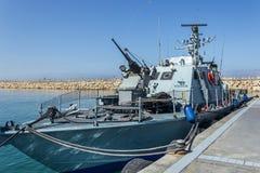 Корабль войны Израиля Стоковая Фотография