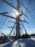 корабль высокорослый Стоковая Фотография