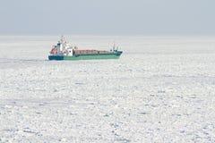 Корабль в Балтийском море Стоковое фото RF