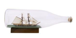 Корабль в бутылке Стоковое фото RF