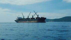 Корабль в Вьетнаме стоковая фотография rf