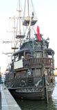 Корабль в Гданьск Стоковая Фотография