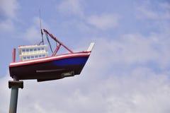 Корабль в небе Стоковое Изображение RF