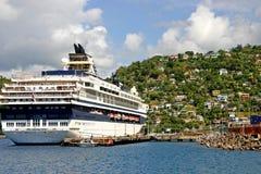 Корабль в порте Стоковые Фото
