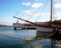 Корабль в Финляндии Стоковые Фото