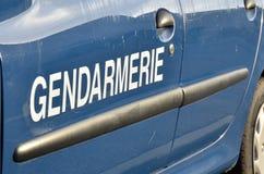 Корабль жандармерии, французская полиция Стоковое Изображение