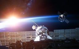 Корабль запустить Элементы этого изображения поставленные NASA Стоковое Изображение