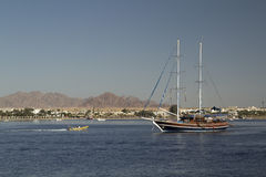 корабль залива Стоковая Фотография