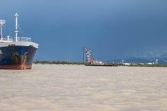 Корабль крана Стоковая Фотография RF