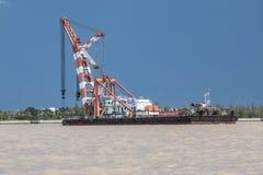 Корабль крана Стоковая Фотография