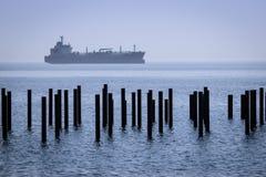 корабль моря элемента конструкции Стоковая Фотография