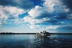 Корабль мотора Стоковая Фотография