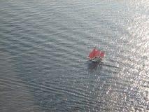 Корабль на море Стоковые Фото