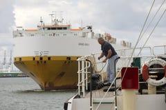 Корабль несущей корабля проходя SS Shieldhall Стоковое Фото