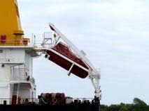 Корабль нефтяного танкера в гавани Стоковое Фото