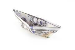 Корабль долларов США Стоковые Изображения