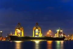 Корабль перевозки груза контейнера Стоковое Фото