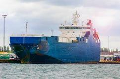 корабль порта gdansk Польши контейнера Стоковое фото RF