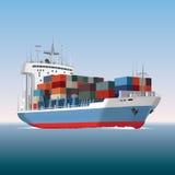корабль порта gdansk Польши контейнера Стоковые Изображения