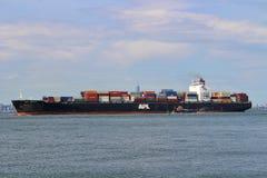 корабль порта gdansk Польши контейнера стоковые фотографии rf