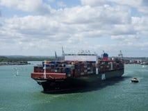 корабль порта gdansk Польши контейнера стоковая фотография rf