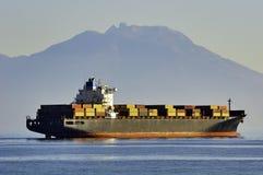 корабль порта gdansk Польши контейнера Стоковое Изображение