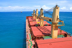 корабль порта hamburg груза деятельностей стоковое фото