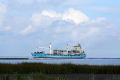 корабль порта hamburg груза деятельностей Стоковые Фото