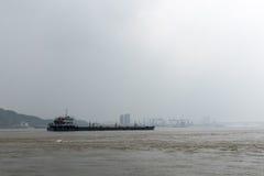 корабль порта hamburg груза деятельностей Стоковые Фотографии RF