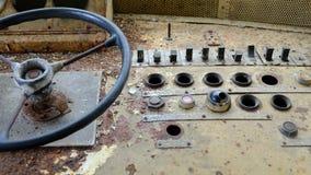 Корабль приборной панели старый Стоковое Фото