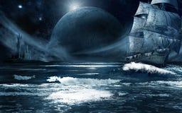 Корабль призрака Стоковые Изображения