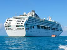 Корабль принцессы круизной линии Стоковая Фотография RF